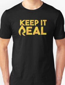 "Faze Rain | ""Keep it Real"" | Black Background | T-Shirt"