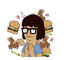 Our Lady Tina Belcher of Ocean Avenue Photographic Print