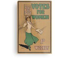 Votes for Women Metal Print