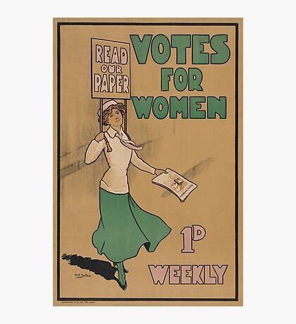 Votes for Women Photographic Print