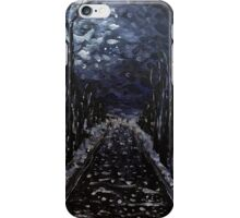 Moonlit Backroads iPhone Case/Skin