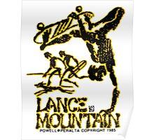 Powell Peralta Lance Mountain Poster