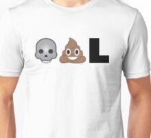 Dead, Poo, L Unisex T-Shirt