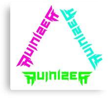 Ruinizer Trilogy Canvas Print