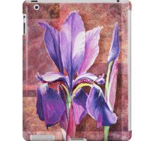 Decorative Iris iPad Case/Skin