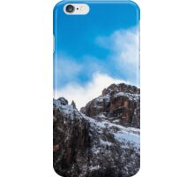 wind on the summit of the mountain iPhone Case/Skin