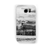 snow on an ancient church of italy Samsung Galaxy Case/Skin