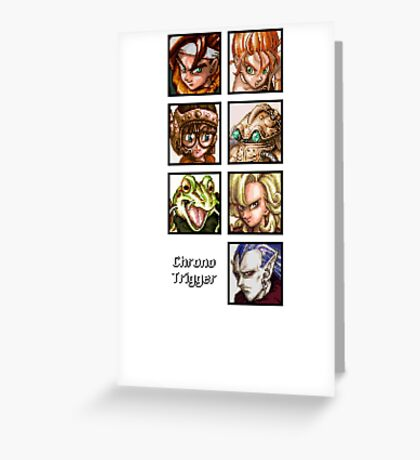 Heroes in Time Greeting Card