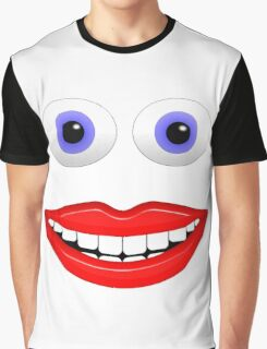 Happy Face Graphic T-Shirt