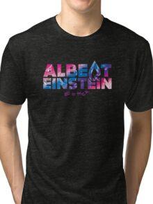 """Faze Rain   """"Albert Einstein""""   Logo   Black Background   Tri-blend T-Shirt"""