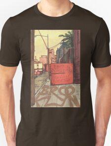 brooklyn sidewalk Unisex T-Shirt
