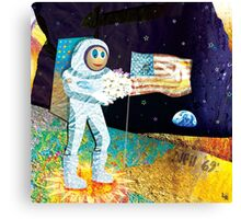 Walk on the Moon Canvas Print