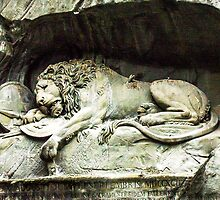 The Lion Monument  by Sherri Fink