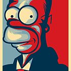 HOMER by frogafro