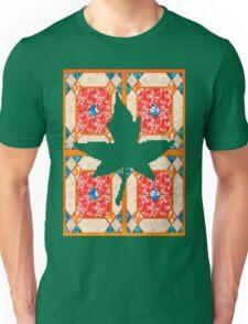 Patchwork beautiful style contry orange  Unisex T-Shirt