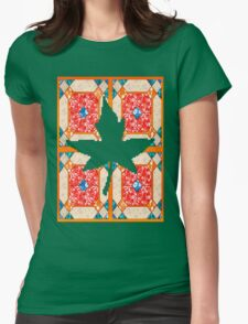 Patchwork beautiful style contry orange  T-Shirt