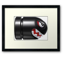 Watch out, Banzai Bill is coming Framed Print