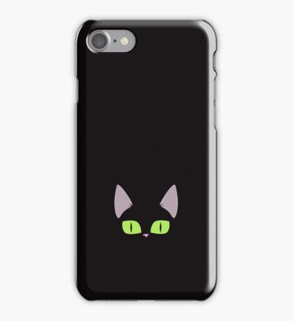 Black Kitten Illustration Phone Case iPhone Case/Skin