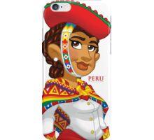 Peruana - White iPhone Case/Skin