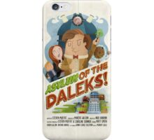 Doctor Who - Asylum of The Daleks! iPhone Case/Skin