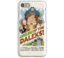 Doctor Who - Asylum of The Daleks! iPhone Case/Skin