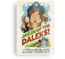 Doctor Who - Asylum of The Daleks! Metal Print