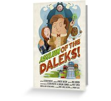 Doctor Who - Asylum of The Daleks! Greeting Card