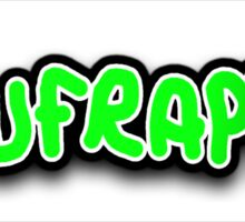 Spufraptor TEXT Sticker