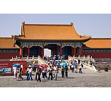 Beijing: Touring the Forbidden City Photographic Print