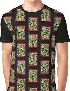 Cosmic Caterpillar Graphic T-Shirt