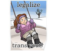 Legalize Trans Youth Poster