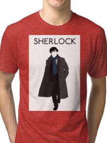 New Sherlock Holmes BBC 2016 Edition Tri-blend T-Shirt