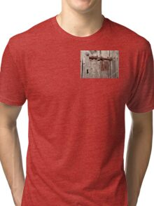 closed for holidays Tri-blend T-Shirt