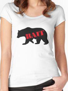 black bear bait Women's Fitted Scoop T-Shirt