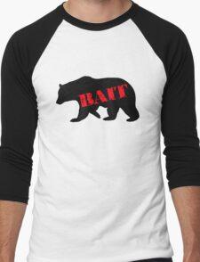 black bear bait Men's Baseball ¾ T-Shirt
