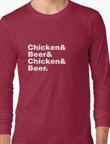 Chicken and Beer Long Sleeve T-Shirt