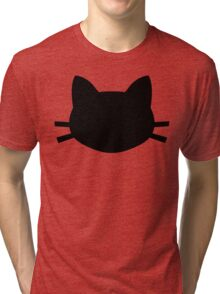 Black Cat Crosses Your Path Tri-blend T-Shirt