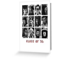 Class of '93 Greeting Card