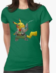 0004 - Pika McCloud Womens Fitted T-Shirt