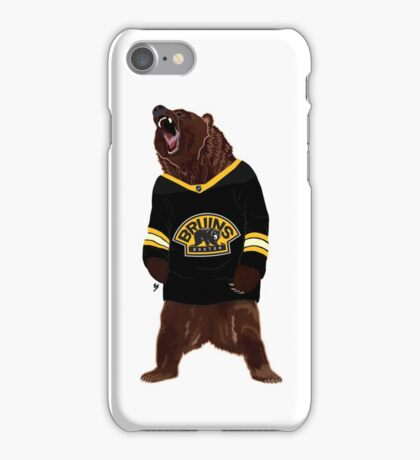 Boston Bruins Bear iPhone Case/Skin