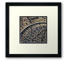 Horoscope Abstracted Framed Print
