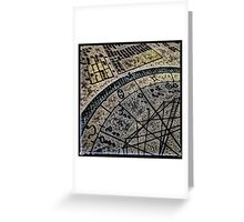 Horoscope Abstracted Greeting Card