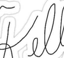 Tori Kelly's Signature Sticker