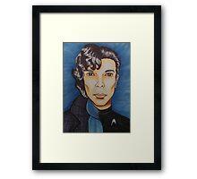 Sherlock vs Khan Framed Print