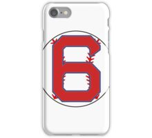 6 Red Sox Johnny Pesky iPhone Case/Skin