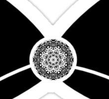 Mandala Minnie Bow Sticker