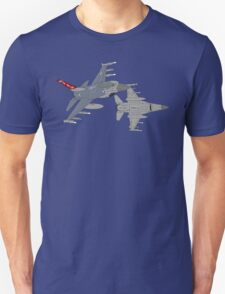 187th FW 100th FS Red Tails F-16 Vipers Alabama ANG Unisex T-Shirt