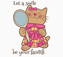 Let a Smile be Your Facelift Womens Fitted T-Shirt
