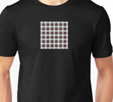 Abstract Рsychedelic Check Pattern Unisex T-Shirt