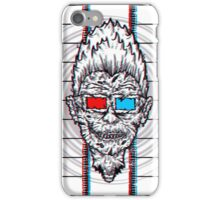 EVEN ZOMBIES ATE IN 3D! iPhone Case/Skin
